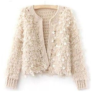 Loopy soft sweater